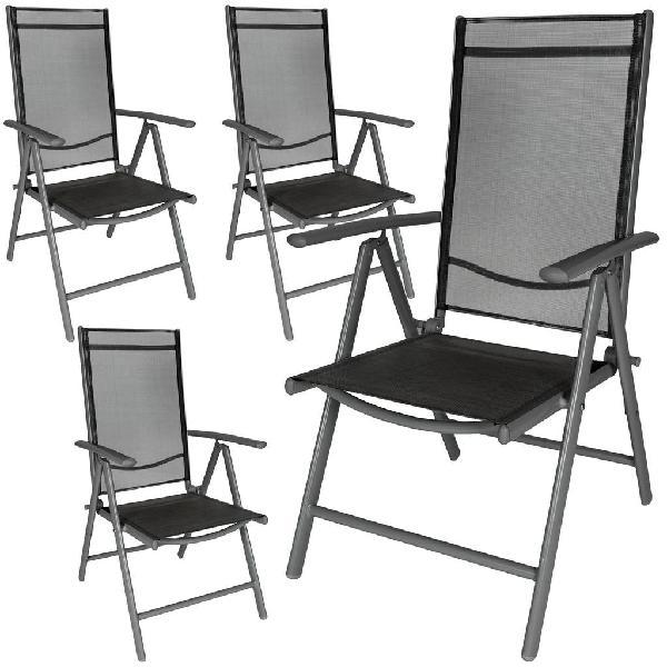 Sillas de jardín plegable aluminio 401634