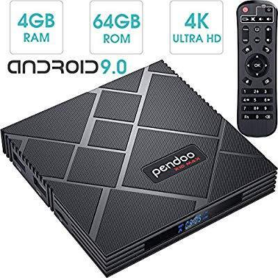 Tv box android 9.0 con 5g 4gb ram 64gb rom nueva