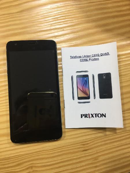 Teléfono movil prixton - linker c53q quad core