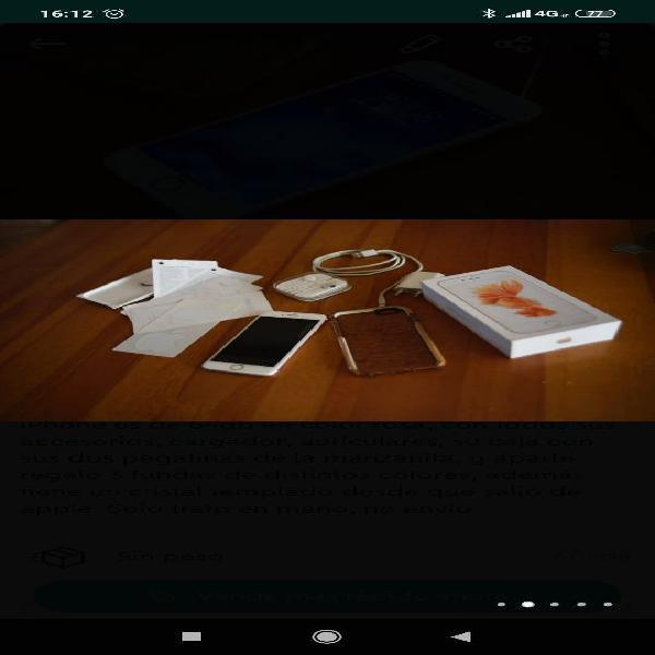 Iphone 6s, 64gb rosa