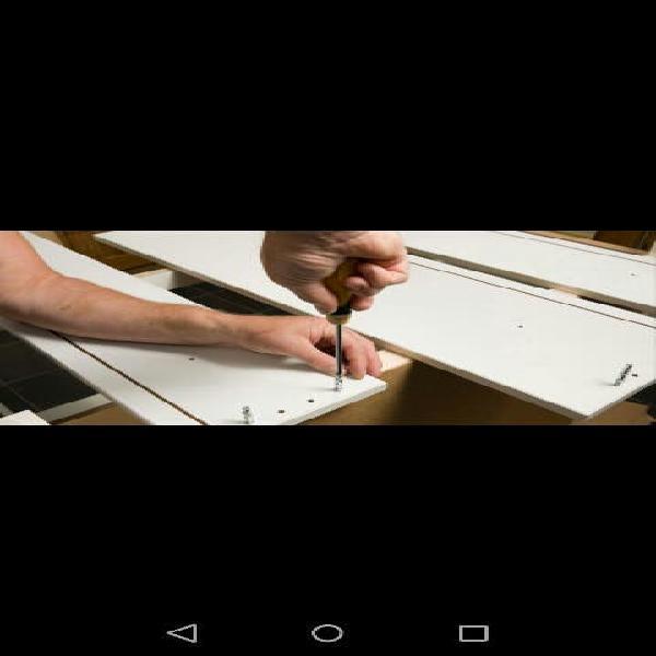 Realizamos el montaje y desmontaje de todo tipode