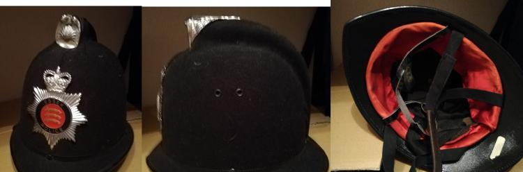 Auténtico casco de bobby inglés