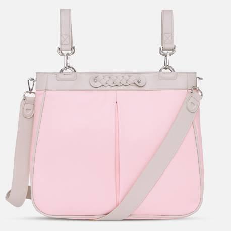 Bolso panera sweet baby old pink de mayoral moda infantil