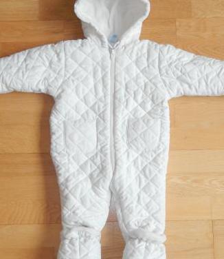 Buzo abrigo bebé 0-3 meses
