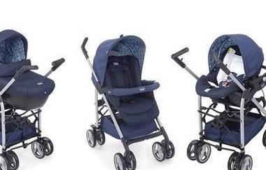 Carro de bebé de 3 piezas chicco sprint