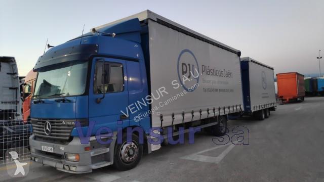 Camión remolque Mercedes lonas deslizantes Actros 4x2 Euro