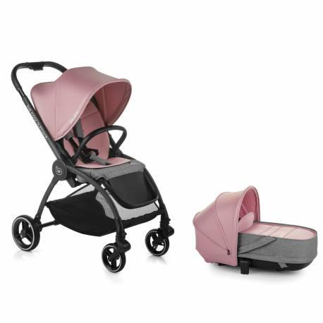 Coche bebe duo outback be solid-pink de be cool