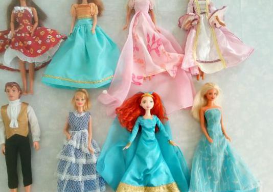 Elige 1 barbie 1 vestido