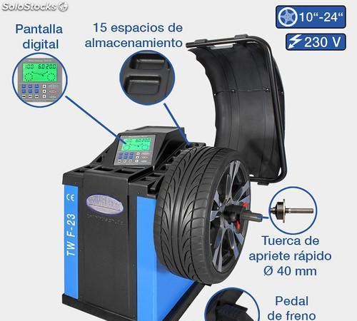 Equilibradora de ruedas automática - tw f-23