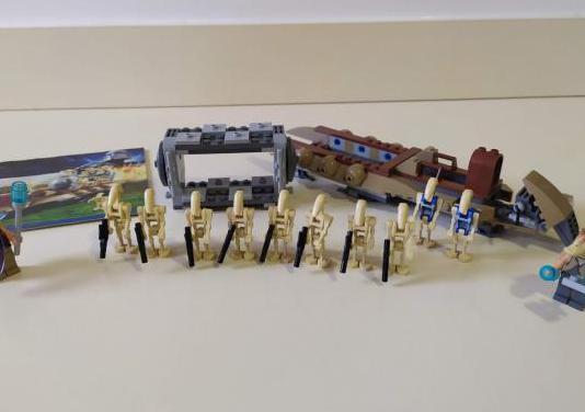 Lego star wars 7929 la batalla de naboo completo