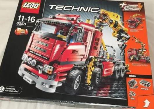 Lego technic modelo 8258