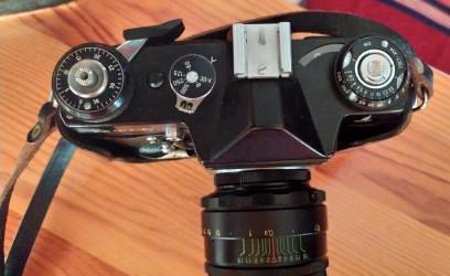 Maquina de fotos antigua