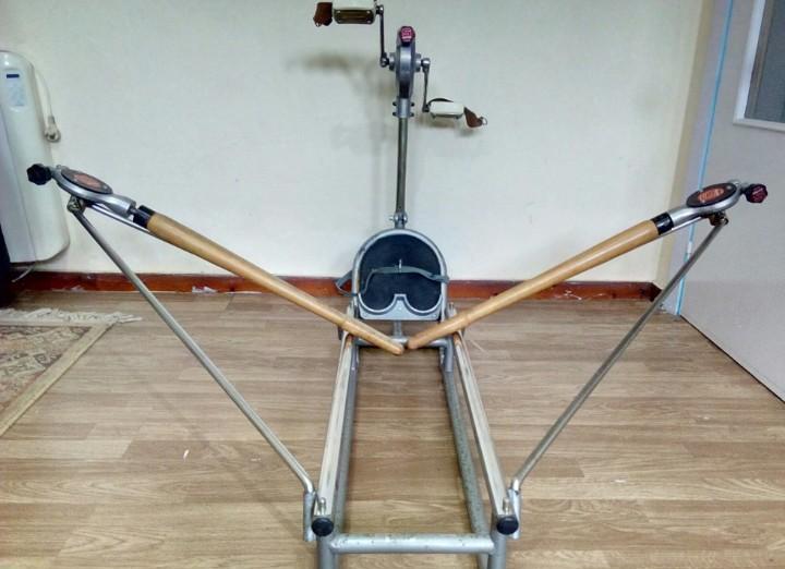 Máquina gimnasio remo bicicleta salter