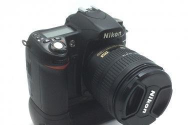 Nikon d-80 con intervalometro