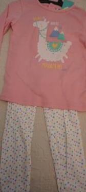 Pijamas nuevos 3 años,18 meses y 6 meses