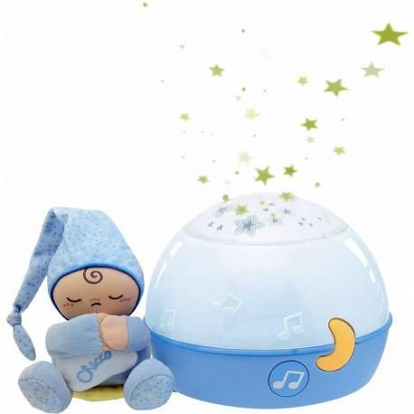 Proyector buenas noches estrellitas azul de chicco