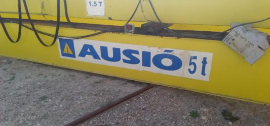 Puente grúa auxio 5t