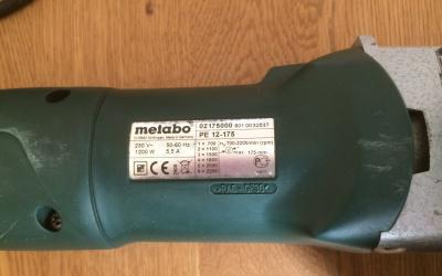 Pulidora rotativa metabo pe 12-175 1200w
