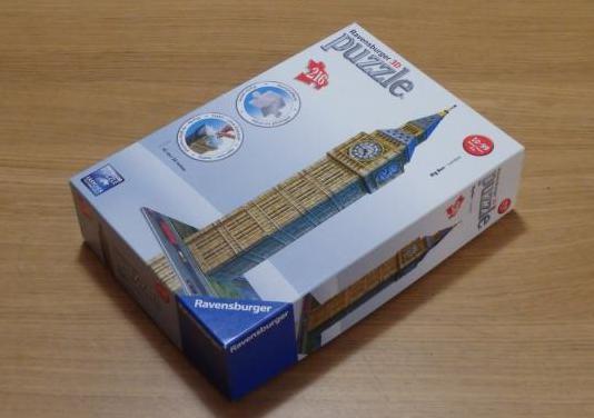 Puzzle ravensburger 3d de 216 piezas - big ben