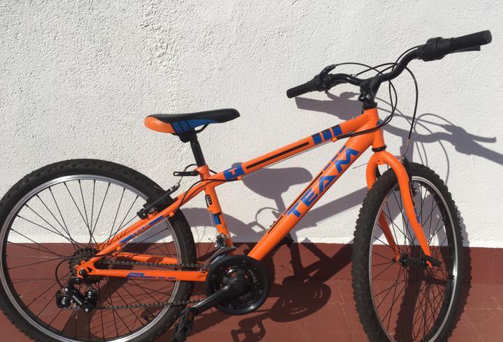 Team bicicleta de montaña