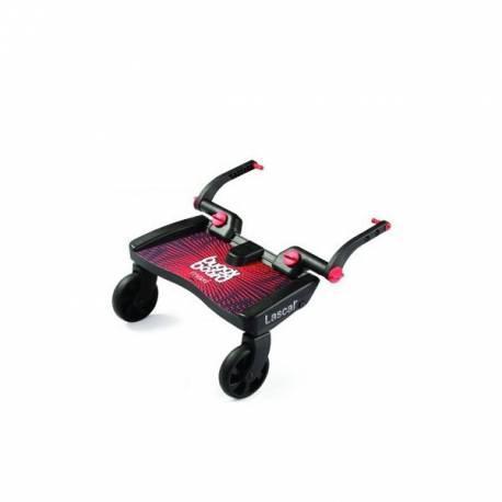 Transportin buggy board maxi rojo de el bebe aventurero
