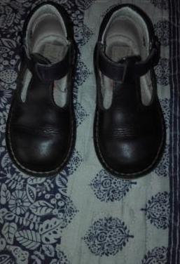 Zapatos bebe azul marino