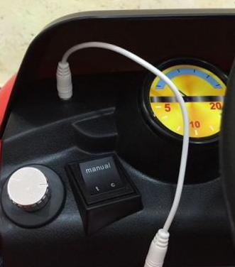 Coche electrónico infantil 6v radio control