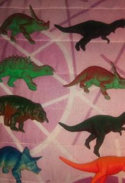 Dinosaurios de juguete de los 90