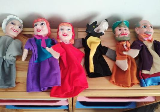 Marionetas cuento caperucita