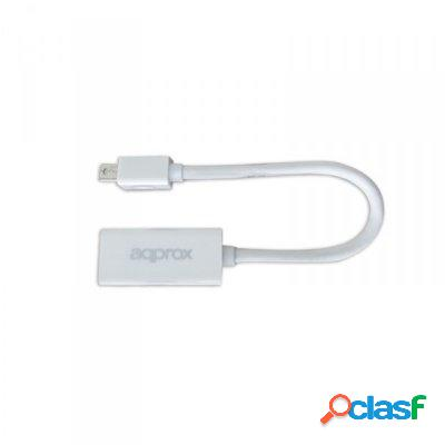 Approx appc12v2 adaptador mini display port a hdmi, original de la marca approx!