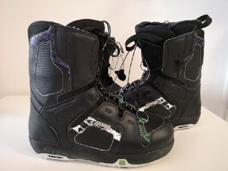 Bota snowboard salomon faction 41