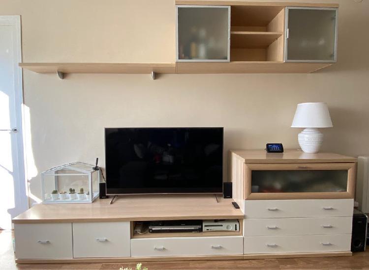 Composición de mueble tv salon- comedor,