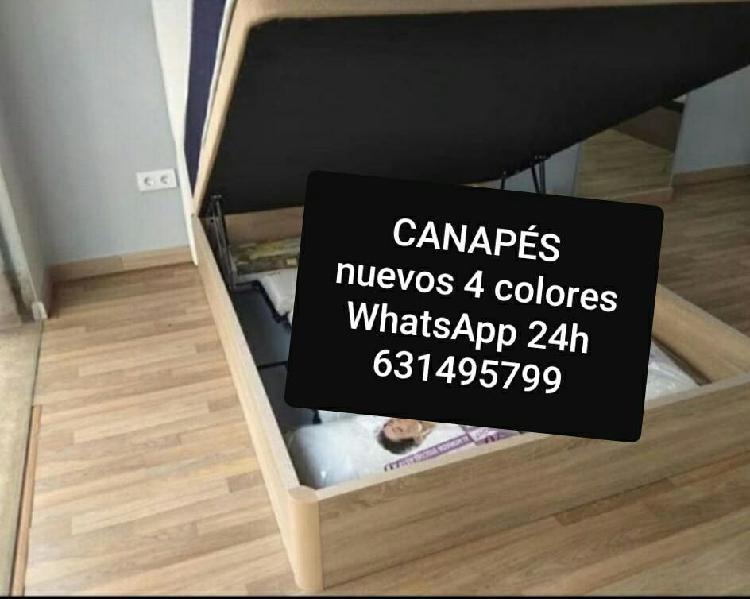 Disponible 4 colores canapés