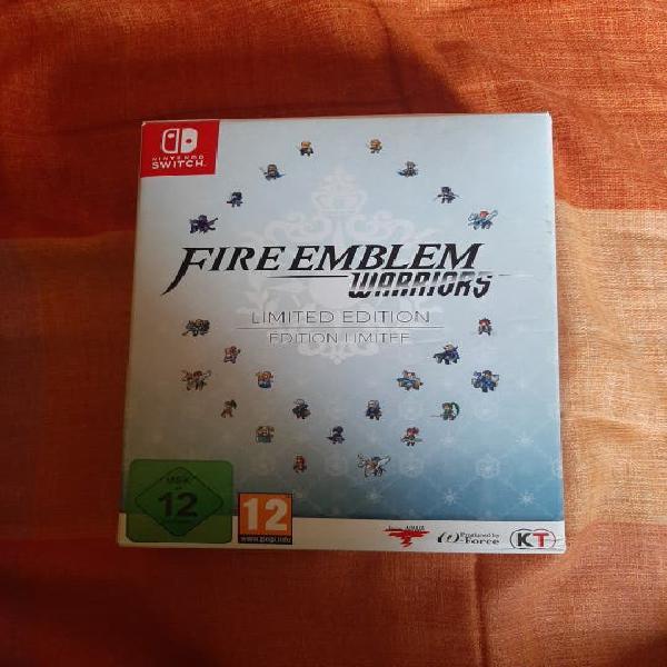 Fire emblem warriors edición limitada nsw