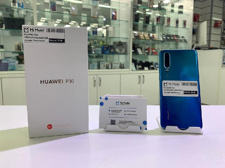 Huawei p30 128gb aurora - seminuevo