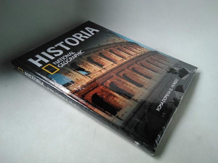 Historia national geographic. roma domina el mundo