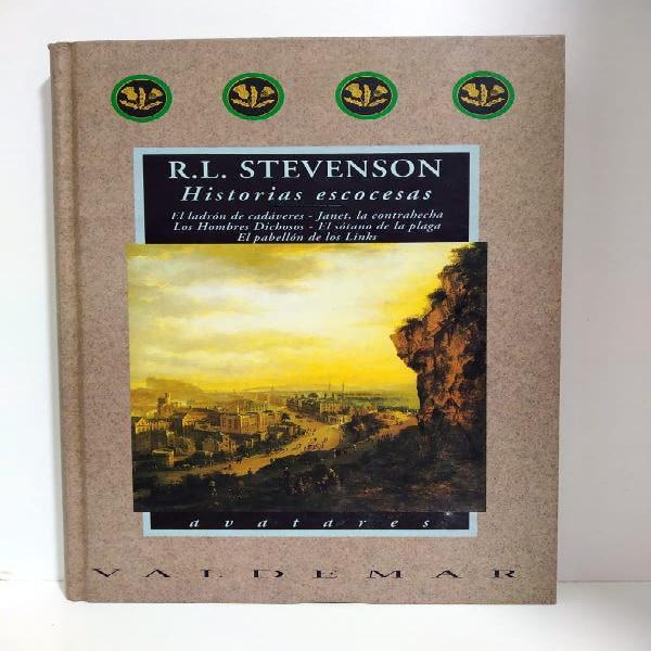 Historias escocesas - r. l. stevenson - valdemar