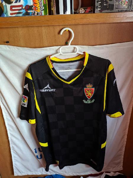 Match worn - real zaragoza - 7 eldin - talla m