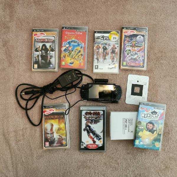 Psp 2004 con juegos y accesorios