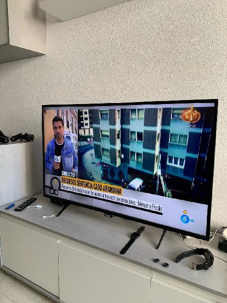 Philips smart led 4k ultraplano smart tv 43p