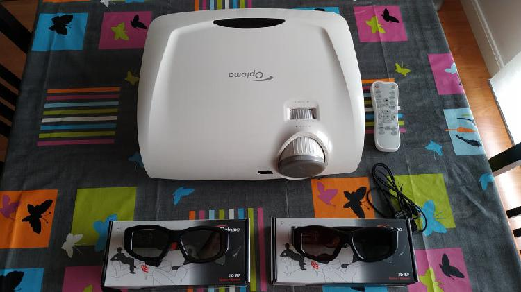 Proyector optoma hd33 con gafas 3d