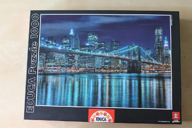 Puzzle 1000 piezas educa - puente brooklyn