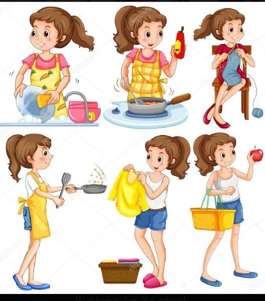 Señora para tareas domesticas