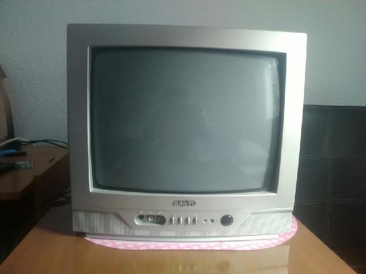Televisor sanyo 14 pulgadas antiguo