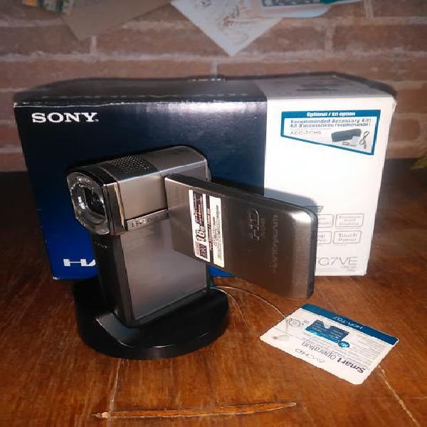 Camara de video sony hdr tg7ve nueva