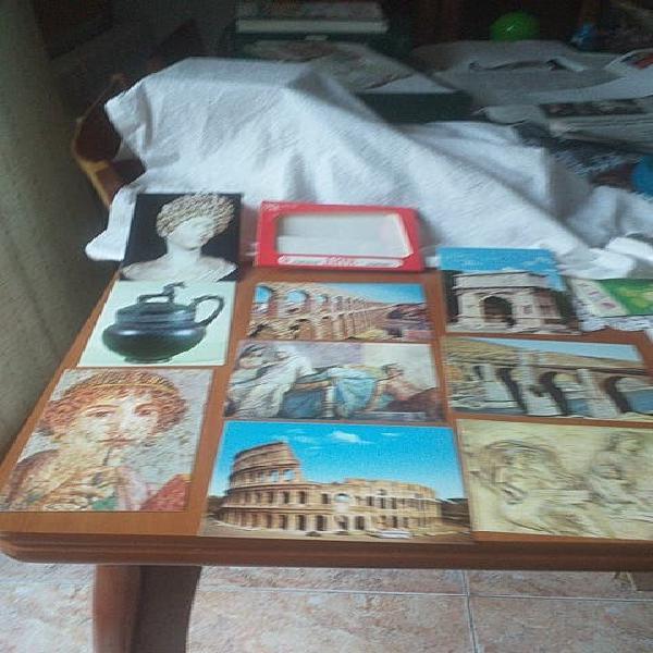 Postales de arte romano