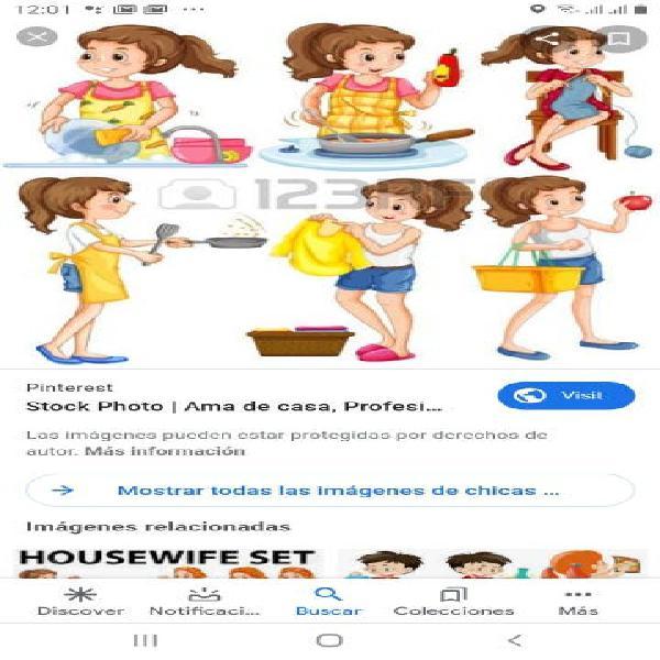 Servicio doméstico cubelles salines