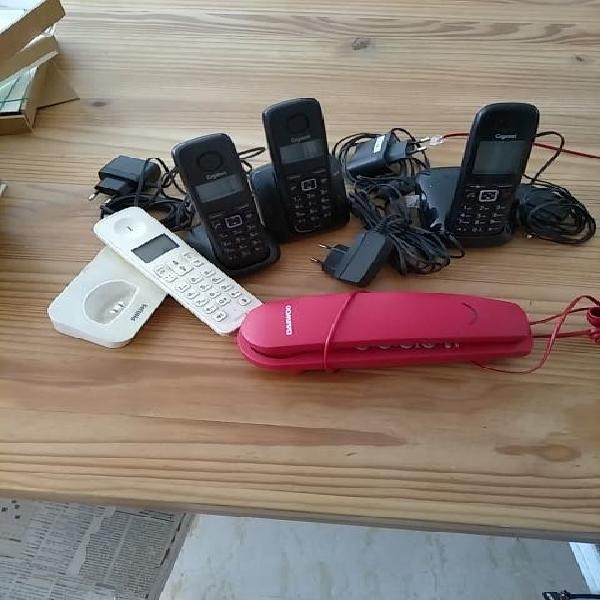 Telefonos inalambricos y fijo