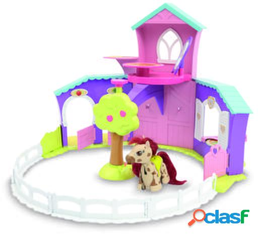 Giochi preziosi pet parade pony playset rancho con 1 pony