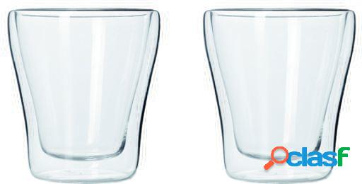 Leonardo set de 2 vasos dp 85ml duo